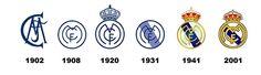 Historia del escudo del Madrid.