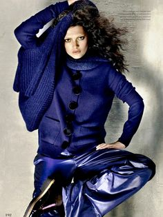 Elle Canada October 2014 | Kristen Murphy by Leda & St Jacques [Editorial]