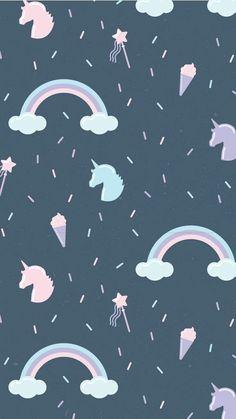 Wallpaper From unicorns Unicornios Wallpaper, Hipster Wallpaper, Kawaii Wallpaper, Tumblr Wallpaper, Cellphone Wallpaper, Disney Wallpaper, Lock Screen Wallpaper, Pattern Wallpaper, Wallpaper Quotes