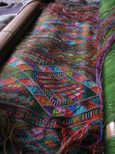 Bhutanese woven textile - From the Kingdom of the Thunder Dragon