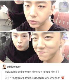 Bap himchan Yongguk Kpop