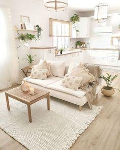 Home Room Design, Dream Home Design, Interior Design Living Room, Living Room Designs, Boho Living Room, Living Room Decor, Living Spaces, Room Ideas Bedroom, Bedroom Decor