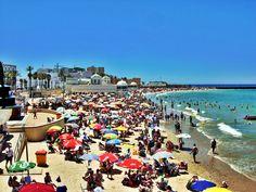 Playa de La Caleta, Cádiz.