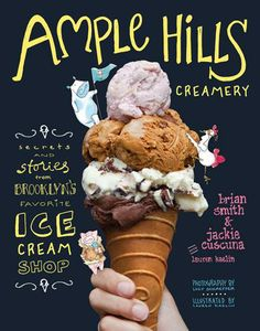 If we're not eating our ice cream, then we make the trip to Brooklyn for Ample Hills Creamery