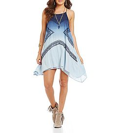 Blu Pepper CrochetInset Dress #Dillards
