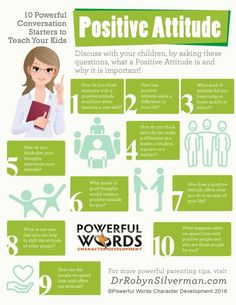 10 powerful conversation starters to teach your kids about positive attitude teaching character, character education Gentle Parenting, Parenting Advice, Kids And Parenting, Teaching Kids, Kids Learning, Kids Behavior, Conversation Starters, Positive Attitude, Raising Kids