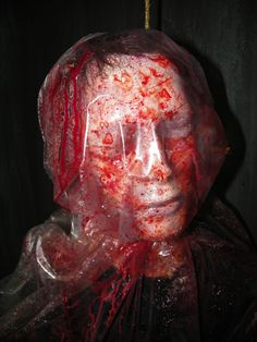 I would use this prop as it creates an uncomfortable sinister feeling. Scary Halloween Decorations, Creepy Halloween, Halloween Horror, Spirit Halloween, Halloween Stuff, Halloween 2014, Adult Halloween Party, Halloween Projects, Holidays Halloween
