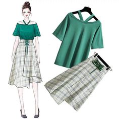 Trendy Fashion Outfits Women Inspiration Blouses Ideas - Trendy Fashion Outfits Women Inspiration Blouses Ideas The Effective Pictures We Offer You Abou - Fashion Design Drawings, Fashion Sketches, Look Fashion, Teen Fashion, Fashion Ideas, Casual Outfits, Cute Outfits, Dress Sketches, Korea Fashion