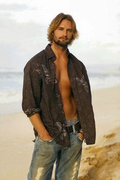 Josh Holloway    If I had to be stranded on an island... ;)