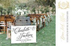 Unplugged Wedding Sign, Wedding Hashtag Sign, Wedding Welcome Signs, Wedding Signage, Fall Wedding, Wedding White, Rustic Garden Wedding, Rustic Wedding Reception, Rustic Backyard