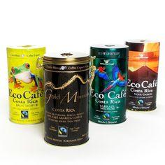 igourmet The Eco Cafe Gift Tin Collection, Brown