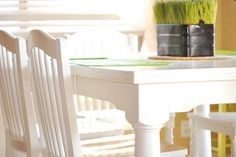 how to paint dining table