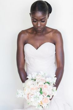 Bride in La Reve Couture wedding gown: http://www.stylemepretty.com/california-weddings/santa-barbara/2016/10/28/intimate-santa-barbara-wedding-2/ Photography: Gloria Mesa - http://gloriamesa.com/