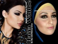 Haifa Wahbe Makeup : Arabian Smokey Eye مكياج هيفاء وهبى