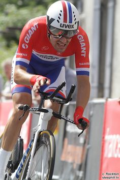 2014 tour-de-france photos stage-20 23 year old Tom Dumoulin (Giant - Shimano) was 2nd + 1:39