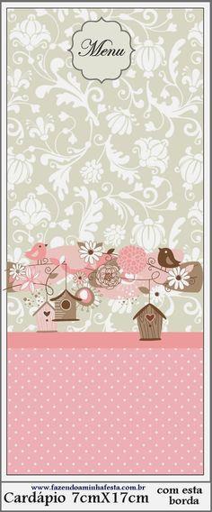 Pájaros y Jaulas: Imprimibles Gratis para Fiestas.