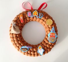 1000 images about kransen on pinterest sinterklaas met and wreaths for Decoratie stuk om te leven