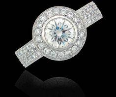 Great White Diamond Ring