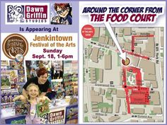 TOMORROW find me around the corner from the FOOD COURT at the Jenkintown Music & BEER Fest!