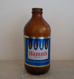 1950's Era Hamm's Beer Bottle by CoCosKloset on Etsy