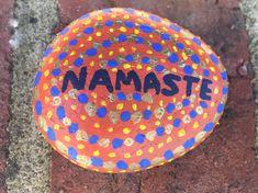 #Myart #art #artist #yogi #yoga #meditation #namaste #stoneart #acrylicart