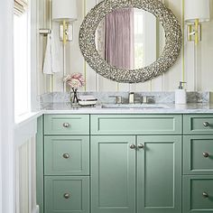 Designer Ginger Brewton executes Laura Ashley beautifully in the 2013 Coastal Living Showhouse.