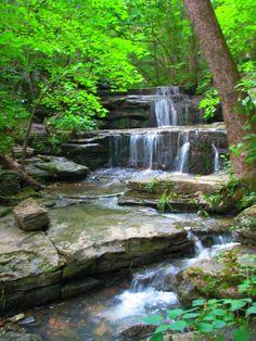 Waterfall near the Buffalo River