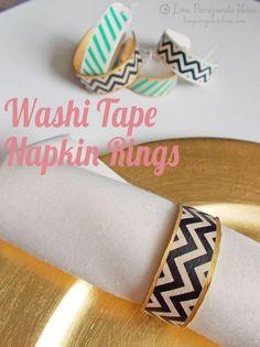15 DIY Washi Tape We