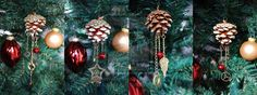 Christmas Steampunk Pine Cones by Kudrel-Cosplay.deviantart.com on @deviantART