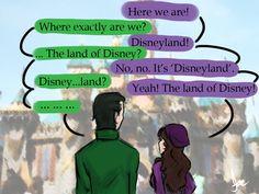 Loki x Darcy - Disneyland by riotfaerie
