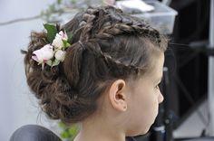 #hair #hairstyle #flower