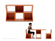 Living in a shoebox | Italian multifunctional furniture