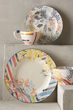 Garden Palette Dinnerware - anthropologie.com Love this set. Should grab a plate and a bowl..