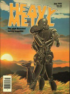 Heavy Metal July 1982 - EphemeraForever.com