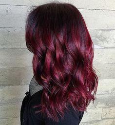 Like a Nice Glass of Pinot Noir... By Butterfly Loft stylist Masey @masey.cheveux