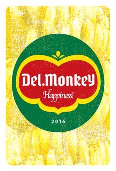 年賀状 2016 No.11: Del.Monkey | ポストカードデザイン・年賀状デザイン – INDIVIDUAL LOCKER