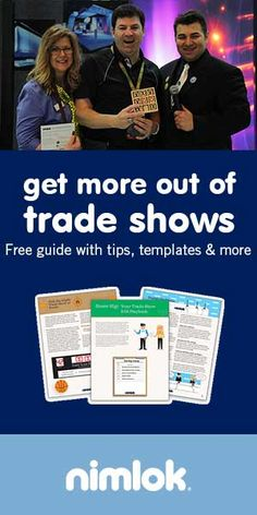 Hundreds of marketers have downloaded our guide to improving trade show ROI. Get this free resource and start improving your trade show game plan today.