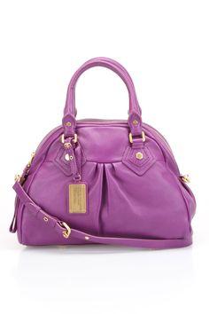 Marc Jacobs Handbag in Violet.