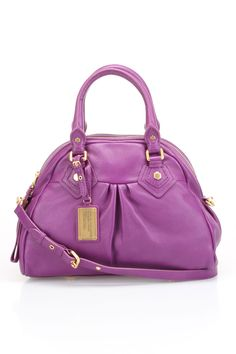 Marc by Marc Jacobs Classic Q Groovee Handbag in Violet