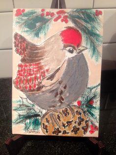 Christmas Bird by Theresa Groom