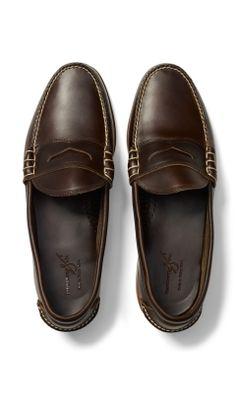 Rancourt Beefroll Penny Loafer - Club Monaco Shoes - Club Monaco