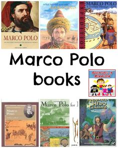 These Marco Polo books are guaranteed to make your Marco Polo unit a big hit! World History Lessons, Teaching History, Us History, History Books, Middle Ages History, History For Kids, Medieval World, Best Children Books, Marco Polo