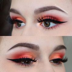 "Another look at this Sunset look I did on my friend the other day Brows: @anastasiabeverlyhills • dipbrow pomade in ""medium brown"" Eyes: @bhcosmetics • take me back to Brazil, and club Tropicana palettes Liner: @beautybakeriemakeup • black milk gelato Lashes: @iconalashes • ""about last night midnight"" lashes Used @morphebrushes to create this look #beautybakerie #makeup #instamakeup #cosmetic #cosmetics #mua #eyeshadow #lipstick #mascara #palettes #eyeliner #lips #concealer #foundation ..."