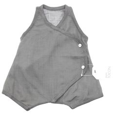 All in one baby romper grey Baby Outfits, Toddler Outfits, Kids Outfits, Baby Boy Fashion, Kids Fashion, Baby Kind, Baby Sewing, Kind Mode, Kids Wear