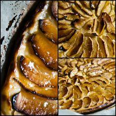 COMPARTIENDO MI PEQUEÑO MUNDO: TARTA DE MANZANA FINA Y CRUJIENTE Coco, Ethnic Recipes, World, Cooked Apples, Food Recipes, Desserts, Apple Cakes, Pies