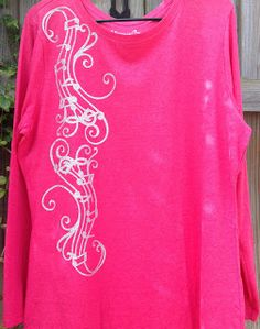 Personalized T Shirt. Music Tshirt. Silhouette Cameo. Silhouette Design Store. Stahls Heat Press. Silver Glitter HTV. - TDY designs