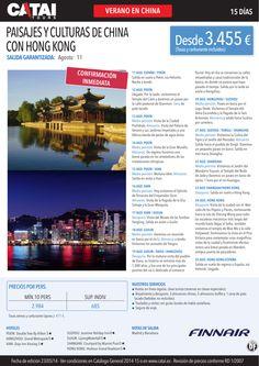 Verano: Paisajes y Culturas de CHINA con Hong Kong, conf inmed, sal garantizada 11ag, 15d dsd 3.455€ ultimo minuto - http://zocotours.com/verano-paisajes-y-culturas-de-china-con-hong-kong-conf-inmed-sal-garantizada-11ag-15d-dsd-3-455e-ultimo-minuto-4/