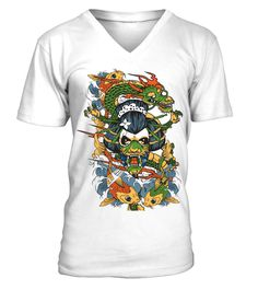 # Japanese Dragon Girl Fish   Illustration V Neck Men Tees .  HOW TO ORDER:1. Select the style and color you want: 2. Click Reserve it now3. Select size and quantity4. Enter shipping and billing information5. Done! Simple as that!TIPS: Buy 2 or more to save shipping cost!This is printable if you purchase only one piece. so dont worry, you will get yours.Guaranteed safe and secure checkout via:Paypal | VISA | MASTERCARD
