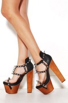 Jeffrey Campbell Dominique at AKIRA | Studded Sandal | shopAKIRA.com ($100-200) - Svpply