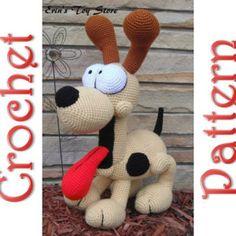 Odie a Crochet Pattern by Erin Scull